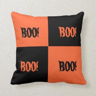 Color Block Halloween Pillow