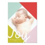 Color Block Joy Holiday Card