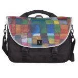 Color Block Laptop Bags