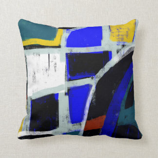 Color Block Modern Art Pillows