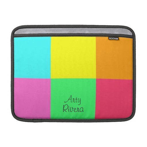 Color Block Party_Where did you get that?! MacBook Air Sleeves