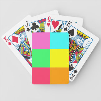 Color Block Party_Where'd you get those? Bicycle Playing Cards