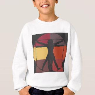 Color Block Vitruvian Man Sweatshirt