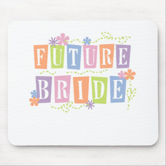 Color Blocks Future Bride Mouse Pad