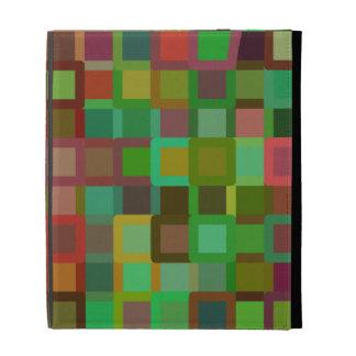 Color Blocks iPad Folio Cases