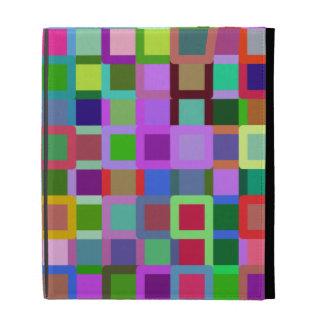 Color Blocks iPad Folio Cover