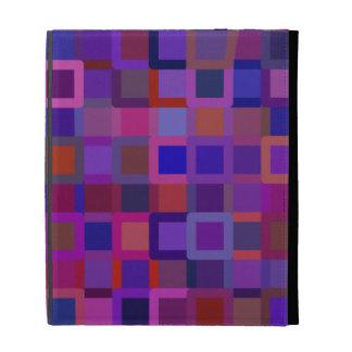Color Blocks iPad Folio Covers