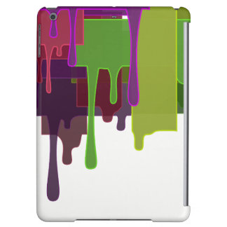 Color Blocks Melting iPad Air Cases