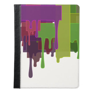 Color Blocks Melting iPad Case