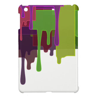 Color Blocks Melting iPad Mini Cases