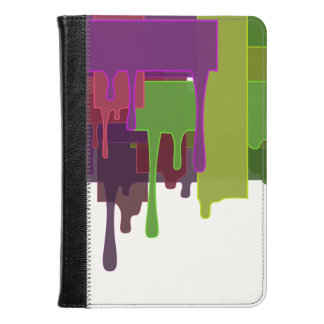 Color Blocks Melting Kindle Case