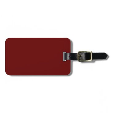 Halloween Themed color blood red bag tag