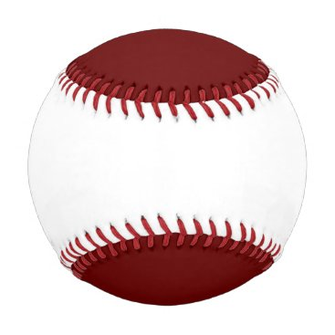 Halloween Themed color blood red baseball