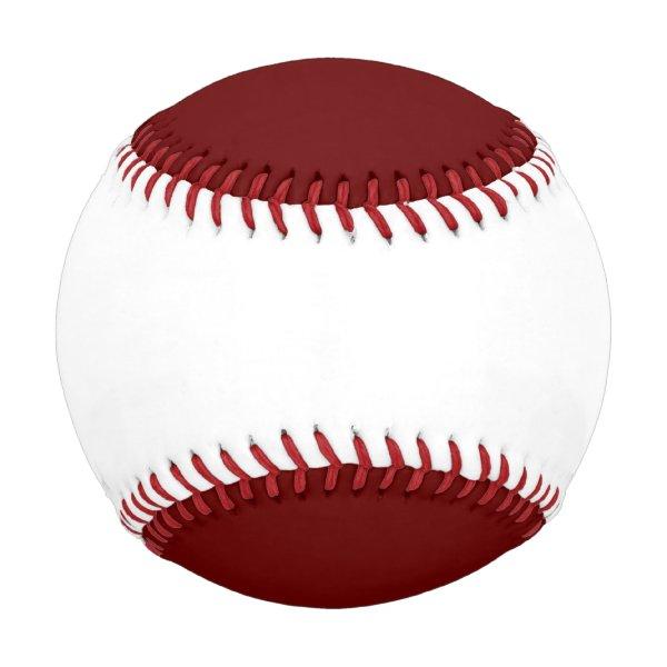 color blood red baseball