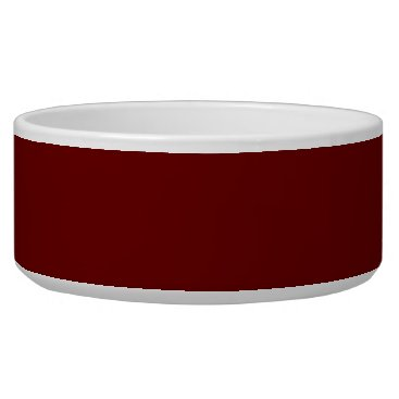 Halloween Themed color blood red bowl