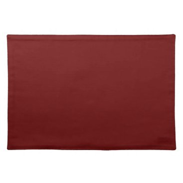 Halloween Themed color blood red cloth placemat