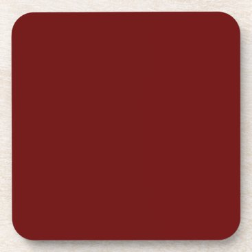 Halloween Themed color blood red coaster