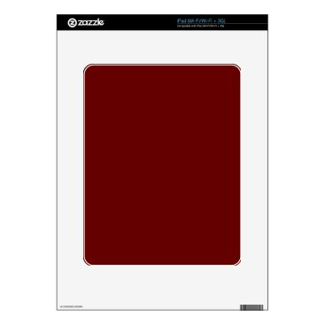 Halloween Themed color blood red decals for the iPad