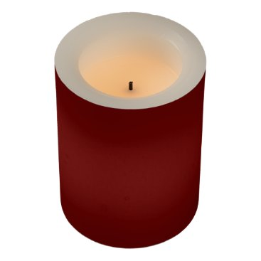 Halloween Themed color blood red flameless candle