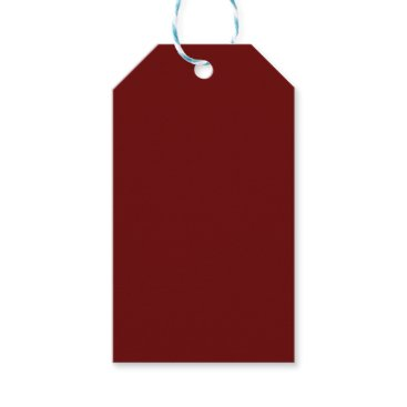 Halloween Themed color blood red gift tags