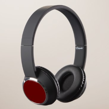 Halloween Themed color blood red headphones
