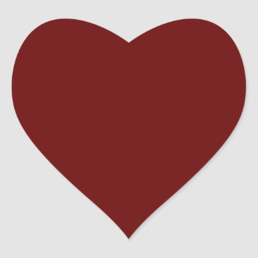 Halloween Themed color blood red heart sticker