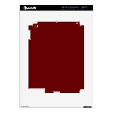 Halloween Themed color blood red iPad 3 decals