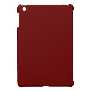 Halloween Themed color blood red iPad mini covers