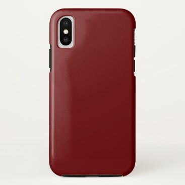 Halloween Themed color blood red iPhone x case
