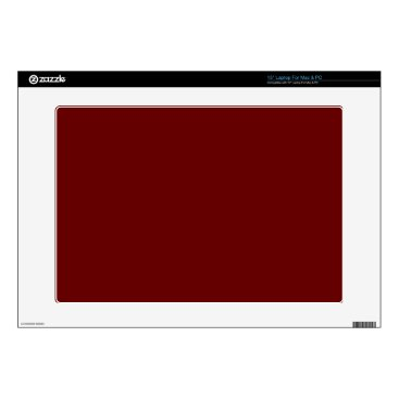 Halloween Themed color blood red laptop skins