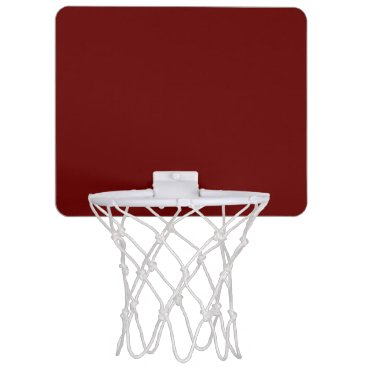 Halloween Themed color blood red mini basketball backboard