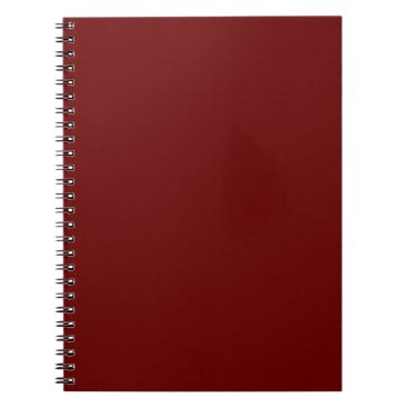 Halloween Themed color blood red notebook