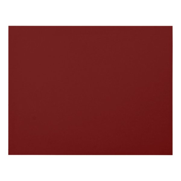color blood red panel wall art