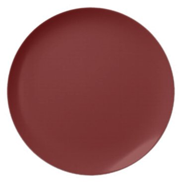 Halloween Themed color blood red plate