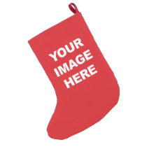 COLOR BLOOD RED.png Small Christmas Stocking