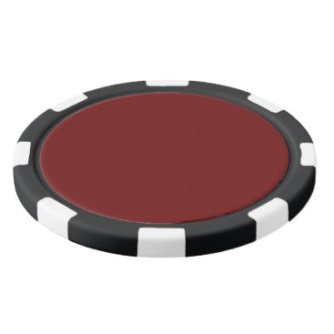Halloween Themed color blood red poker chip set