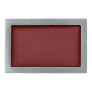 Halloween Themed color blood red rectangular belt buckle