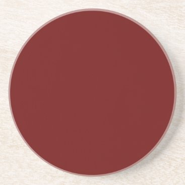 Halloween Themed color blood red sandstone coaster