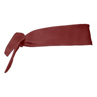 Halloween Themed color blood red tie headband