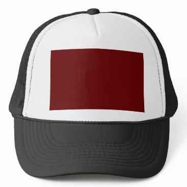 Halloween Themed color blood red trucker hat