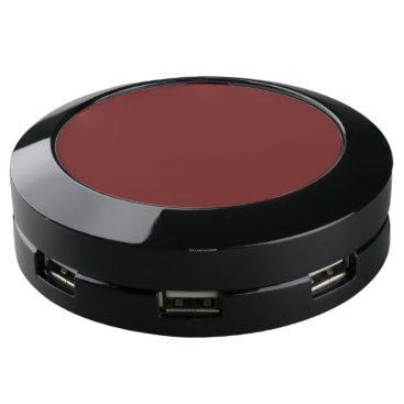 color blood red USB charging station