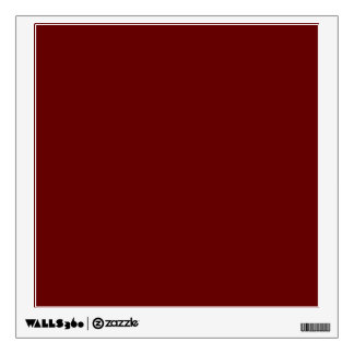 color blood red wall decal