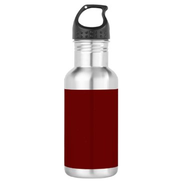 color blood red water bottle