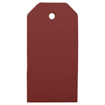 Halloween Themed color blood red wooden gift tags