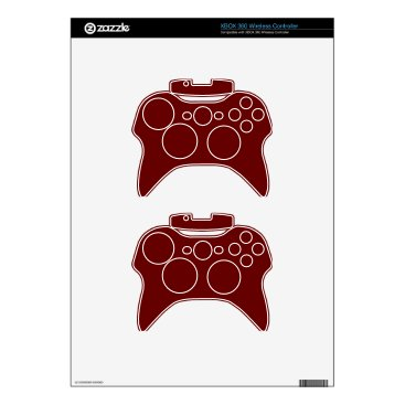 Halloween Themed color blood red xbox 360 controller skins