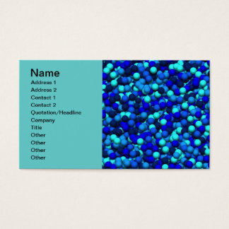 Color Blue Business Card
