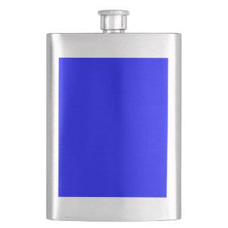color blue flask