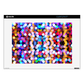 "Color Blurs 15"" Laptop Skin"