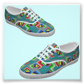 Color Box Shoes Photo Print