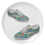 Color box shoes plate
